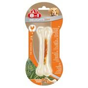 Косточка сверхпрочная с куриным мясом для мелких и средних собак 8in1 DELIGHTS Strong S 11 см
