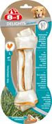 Косточка для чистки зубов с куриным мясом для крупных собак 8in1 DENTAL DELIGHTS L с минералами 21 см
