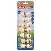 Косточки с говядиной для мелких собак 8in1 DELIGHTS Beef XS 7,5 см 7 шт