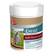 """""""8 in 1"""" Эксель Мультивитамины для собак мелких пород 70 таб."""