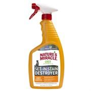 Уничтожитель пятен и запахов от кошек 8in1 Nature's Miracle JFC ORANGE-OXY FORMULA спрей 710 мл