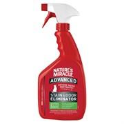 Уничтожитель пятен и запахов от кошек 8in1 Nature's Miracle Advanced с усиленной формулой 945 мл