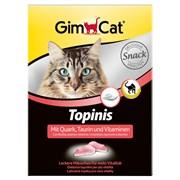 Витаминизированное лакомство для кошек GimCat Topinis: Мышки с творогом, таурином и витаминами