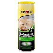 Витаминизированное лакомство для кошек GimCat Tabs с водорослями и биотином