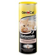 Витаминизированное лакомство для кошек GimCat Tabs с сыром маскарпоне и биотином
