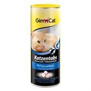 Витаминизированное лакомство для кошек GimCat Tabs с рыбой и биотином