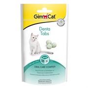 Лакомство для кошек для чистки зубов GimCat Denta Tabs с морскими водорослями и мятой
