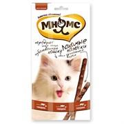 Лакомство для кошек Мнямс палочки 13,5 см с говядиной и печенью