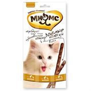 Лакомство для кошек Мнямс палочки 13,5 см с цыпленком и уткой