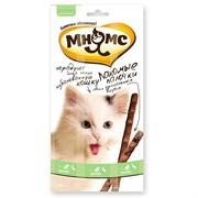 Лакомство для кошек Мнямс палочки 13,5 см с уткой и кроликом