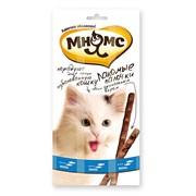 Лакомство для кошек Мнямс палочки 13,5 см с лососем и форелью