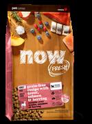 Беззерновой сухой корм NOW Fresh для взрослых собак с чувствительным пищеварением с форелью и лососем Grain Free Fish Adult Recipe