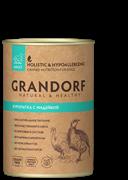 Консервы GRANDORF для собак всех пород с куропаткой и индейкой - новая упаковка