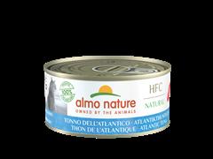 Консервы ALMO NATURE для взрослых кошек Атлантический тунец Natural - Atlantic Tuna 150 гр