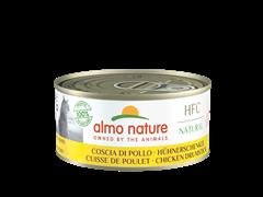Консервы ALMO NATURE для взрослых кошек куриные бедрышки Natural - Chicken Drumstick 150 гр.