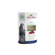 Пауч ALMO NATURE Natural Plus для взрослых кошек Филе полосатого тунца 91% мяса (HFC Natural Plus Skip Jack Tuna Fillet)