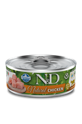 Консервы FARMINA ND CAT NATURAL для кошек с курицей (ND Natural Chicken)