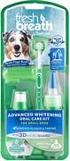 """Набор отбеливающий Tropiclean для ухода за зубами для собак мини-пород """"Свежее дыхание"""" 4 предмета (гель, жидкая зубная щетка, зубная щетка, напалечник)"""