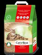 Древесный комкующийся наполнитель Cat's Best Original (Eko plus) 40 л / 17.2 кг