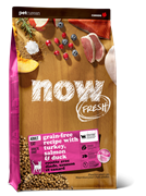 Беззерновой cухой корм NOW Fresh для взрослых кошек с индейкой, уткой и овощами (Grain Free Adult Cat Recipe)