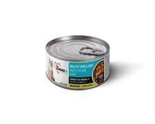 Консервы 1st CHOICE для кошек с лососем в масле тунца Skin/Coat Salmon Flakes Adult Cat