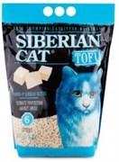 Соевый биоразлагаемый комкующийся наполнитель Сибирская кошка Tofu Original без ароматизатора