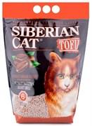 Соевый биоразлагаемый комкующийся наполнитель Сибирская кошка Tofu Coffee с ароматом кофе