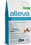 Сухой корм Alleva Equilibrium для взрослых собак малых и средних пород с океанической рыбой и рисом Sensitive Ocean Fish Mini/Medium