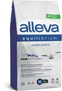 Сухой корм Alleva Equilibrium для взрослых собак малых и средних пород, склонных к лишнему весу с курицей, океанической рыбой и рисом Weight Control Mini/Medium