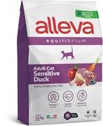 Сухой корм Alleva Equilibrium для взрослых кошек с уткой Sensitive Duck Adult Cat