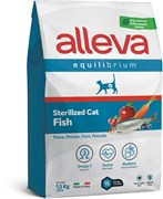 Сухой корм Alleva Equilibrium для стерилизованных кошек с океанической рыбой Sterilized Cat Fish