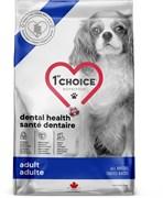 Сухой корм 1st Choice Care для собак всех пород с курицей для здоровья зубов Dental Health