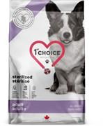 Сухой корм 1st Choice Care для стерилизованных собак всех пород с курицей Sterilized