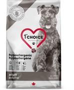 Беззерновой сухой корм 1st Choice Care для собак всех пород, склонных к аллергии с уткой Hypoallegenic