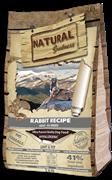 Беззерновой сухой корм Natural Greatness контроль веса/пожилых собак всех пород с кроликом Rabbit Recipe Light/Fit