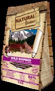 Беззерновой сухой корм Natural Greatness для котят и кошек с курицей и индейкой Wild Inspired Cat and Kitten 600 гр