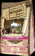 Сухой корм Natural Greatness для домашних кошек с курицей и индейкой Sensitive Indoor Recipe Adult Cat