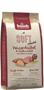Беззерновой полувлажный корм Bosch Soft Maxi для взрослых собак крупных пород с буйволом и бататом
