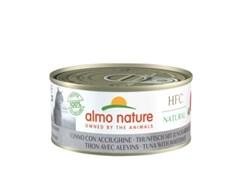 Консервы ALMO NATURE для взрослых кошек с тунцом и сардинками HFC - Natural - Tuna with Whitebait