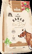Беззерновой запеченный сухой корм Bosch Ovenbaked для собак всех пород с говядиной Rind