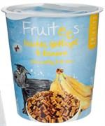 Полувлажное лакомство для собак Bosch Fruitees с птицей и бананом