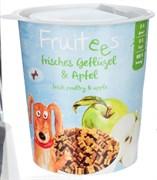Полувлажное лакомство для собак Bosch Fruitees с птицей и яблоком