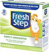 Наполнитель Fresh Step Unscented Комкующийся без запаха новая упаковка