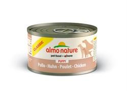 Консервы ALMO NATURE Classic Puppy Chicken для щенков с курицей