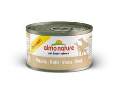 Консервы ALMO NATURE для собак с телятиной (Classic Veal)