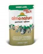 "Пауч ALMO NATURE Green label Cat Chicken Breast 75% мяса для взрослых кошек ""Куриная грудка"""