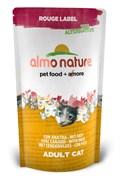 Сухой корм ALMO NATURE New 100% Fresh Rouge label The Alternative Cat Duck для взрослых кошек с уткой