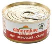 Консервы ALMO NATURE Classic Adult Cat Beef для взрослых кошек с говядиной