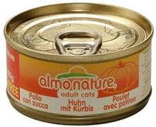 Консервы ALMO NATURE Classic Adult Cat Chicken/Pumpkin для взрослых кошек с курицей и тыквой