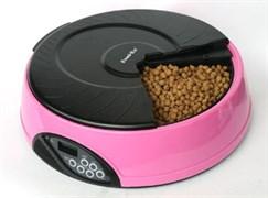 Автокормушка для любого типа корма Feedex PF2 на 4 кормления для кошек и собак